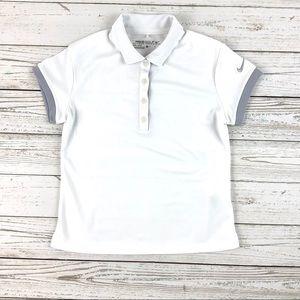 Nike Golf white polo t-shirt